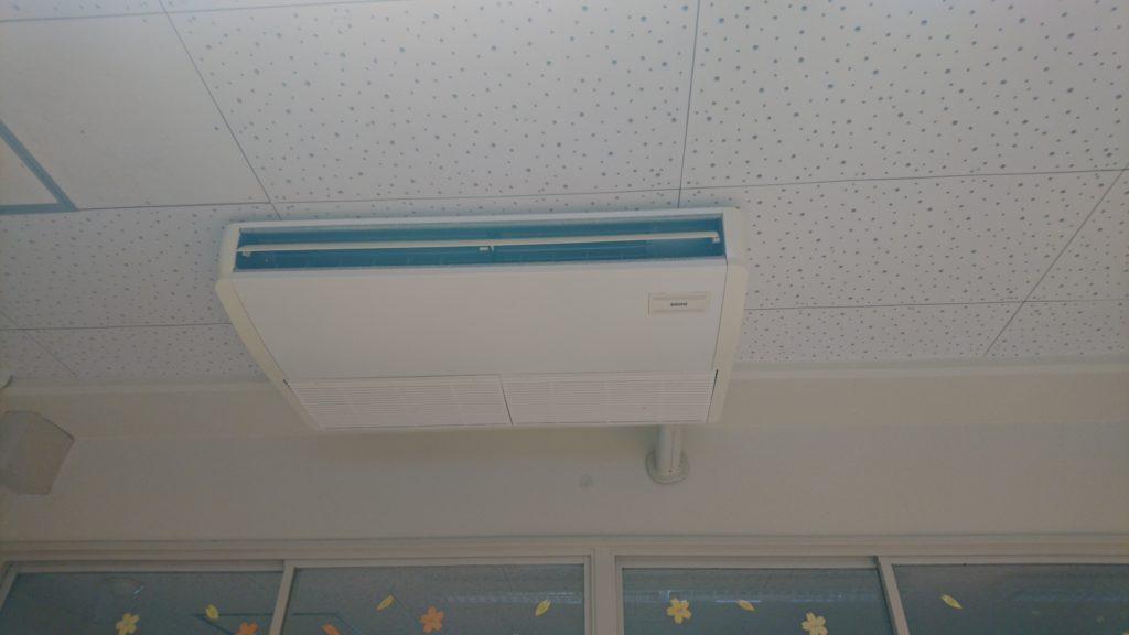 天井型エアコンクリーニング2