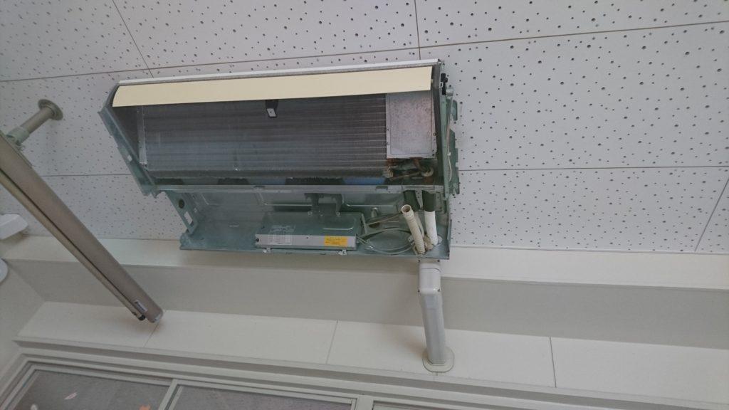 天井型エアコンクリーニング分解1
