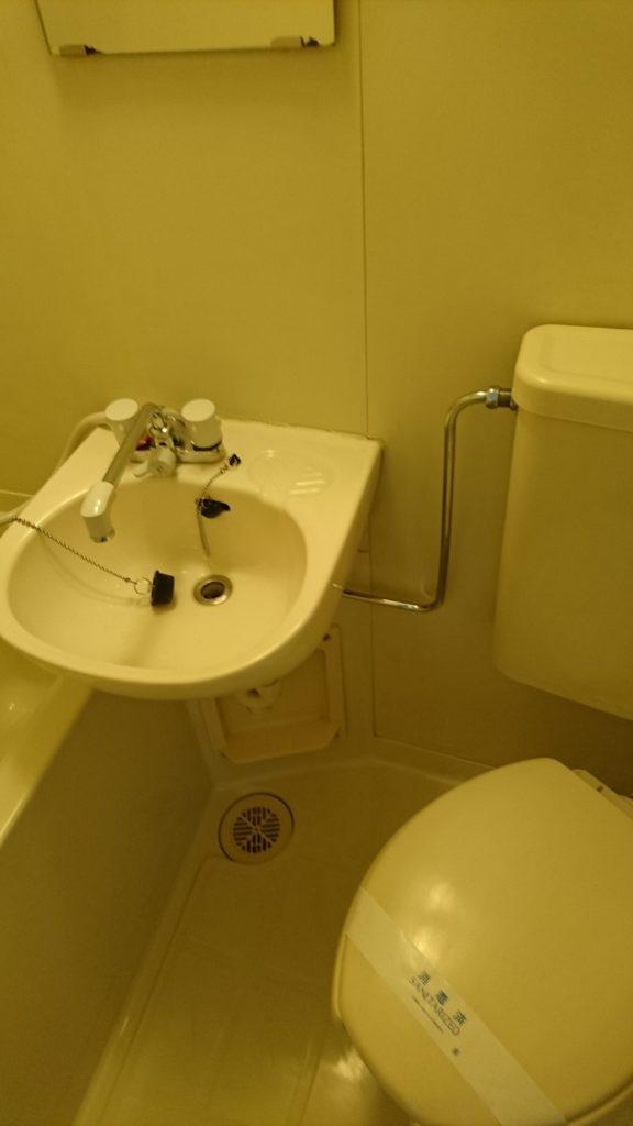 空室クリーニング浴室