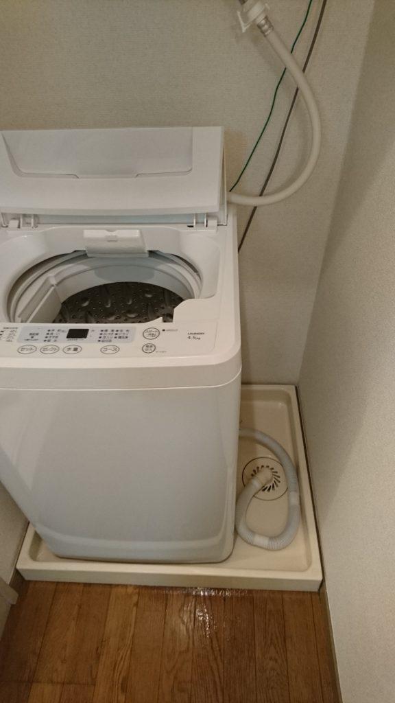 洗濯機回りクリーニング