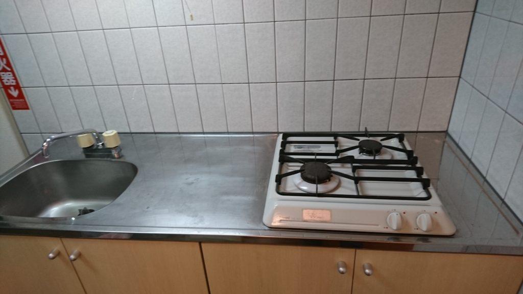 キッチン回りクリーニング