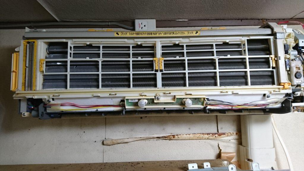 日立製お掃除機能付きエアコン