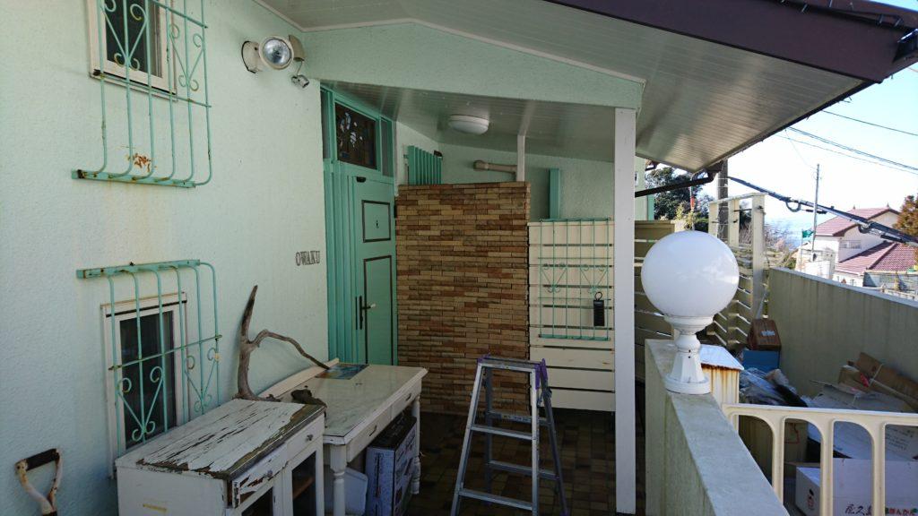 ハウスクリーニング横浜、海岸窓クリーニング3