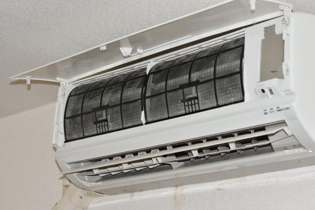 エアコンクリーニングお掃除機能付き