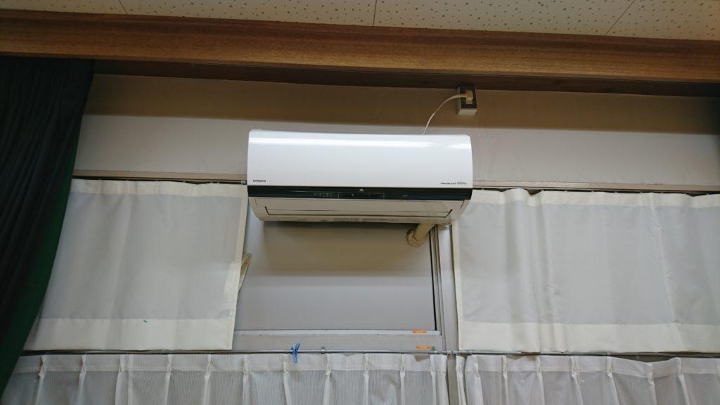エアコンクリーニングお掃除機能付きは